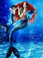 The Mermaids Family by annemaria48