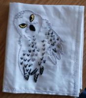 Hedwig Handkerchief Embroidery by SollinFaolan