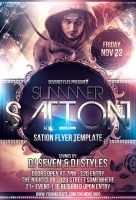 Sation Flyer Template by renderyourmind