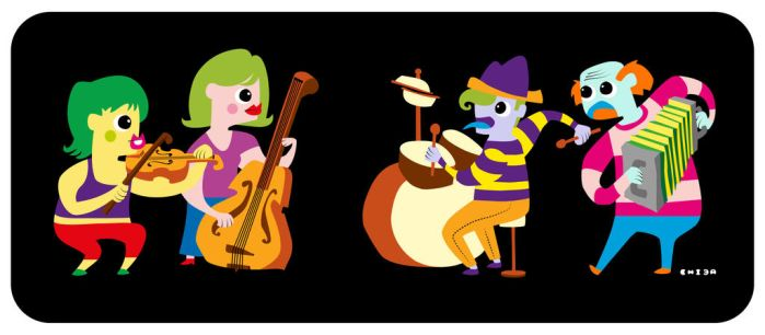 Musicians by Chiba-Wolf
