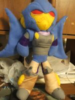 Beast Wars Depth Charge Plushie by blazeraptor