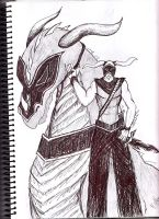 the Dragon Knight by Black-Hearted-Poet