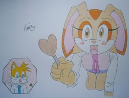 Tails x Cream. Say ahhhh! by P-Manwag