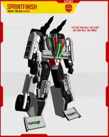 AUTOBOT SPRINTFINISH by F-for-feasant-design