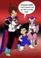 The first meeting with Frieza by TwinkelMalfidus