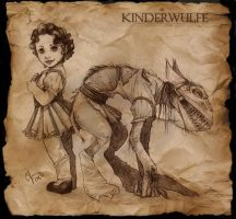 Kinderwulfe by Candy-Janney