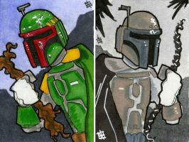 Star Wars Chrome Perspectives - Boba Fett by 10th-letter