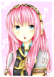 Megurine Luka by bellafunify