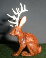 Jackalope by Riabhach
