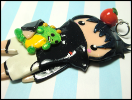 Kid Sasuke Charm III by GrandmaThunderpants
