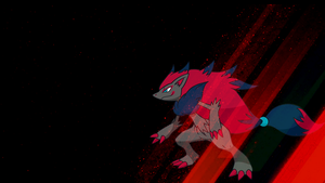 . Pokemon Wallpaper . Zoroark . by Flows-Backgrounds