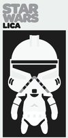 LICA x STARWARS CLONE TROOPER by bunnypistol69