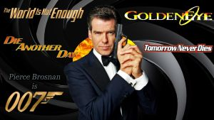 Pierce Brosnan - 007 wp by SWFan1977