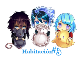 fdv- Habitacion 5 chibi by Blue-Crocodile