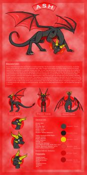 Ash Refsheet by Lithium-dragon482