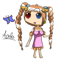 PG: Chibi Aoife by CreeperTier