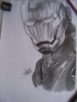 IRON MAN by GaaraJapanime