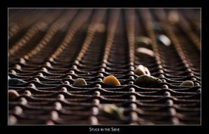 Stuck in the Sieve by AndreasResch