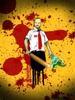 Shaun of the Dead by Canookian