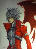 Ragna The Bloodedge - BlazBlue COLOUR by LaniKiryu666
