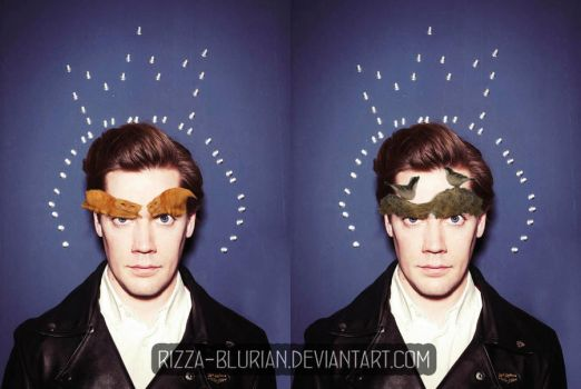 Pelle Almqvist with his lovely eyebrows by Rizza-Blurian