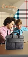 Laptop Bag - Poster 02 by nicy2002