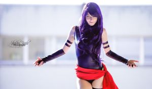 Psylocke - Elisabeth  Betsy  Bradd / X-Men Marvel by ShashinKaihi