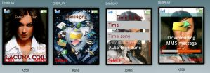 Cristina Scabbia phone Theme by Irechan