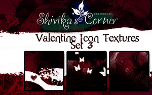 Valentine Icon Textures Set 3 by spiritcoda