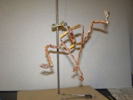 Spiderman sculpt armature wip by rvbass