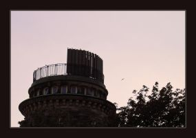 Tower in Pink by moeuf