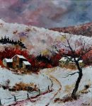 snow in ardennes by pledent