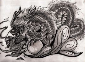 Chinese Dragon by xXkollyXx