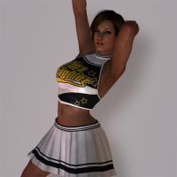 Lisa Hamilton Cheerleader DLC by Sticklove