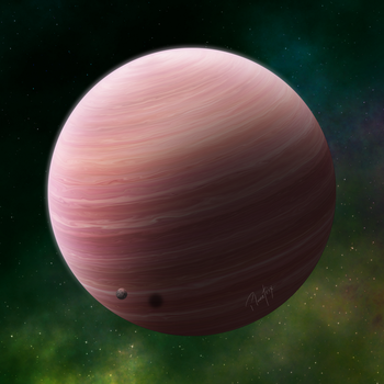 [OPEN] Gas Planet 008: Red by Planetrix