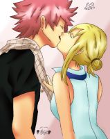 Natsu X Lucy by Scarlet2Summer