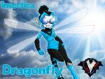 Insectica - Dragonfly by PlayboyVampire