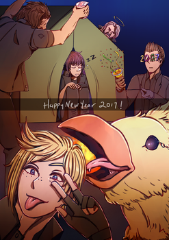 FFXV: Year of the Chocobo by a-z04