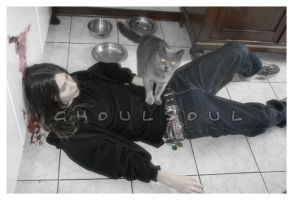 my cat want me by GhoulSoul