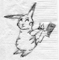 Pika Doodle by AmyLizMiller