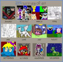 2009 Summary Of Art by puddathere