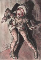 Silent Hill 2 Nurse by DianaGarridoArt