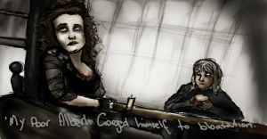 Mrs. Lovett and Toby by Until-The-Dark