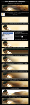 Kanye West Sig Tutorial by ronnie-k