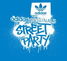 STREET PARTY logo for ADIDAS by Turbo-S2K