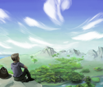 Mountaintop Idyll by Quanyails