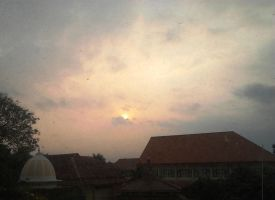 Sunset in Malang by Lyra03