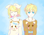 Sweater Kagamines by MirrorSound02
