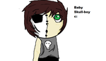 Baby Skull c: by Saviour-Of-The-Fate