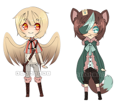 Adoptables - - Closed by kiku-shi